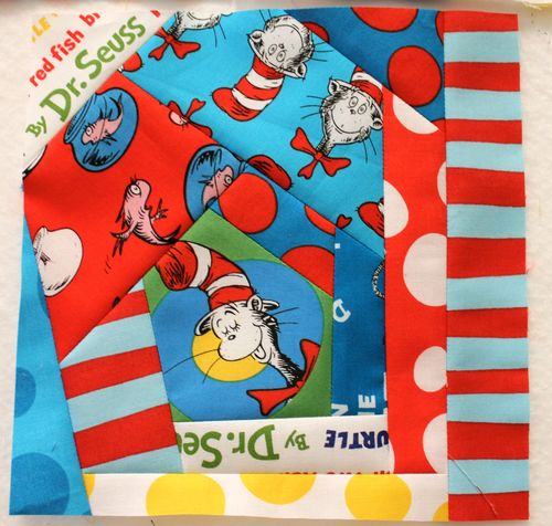 Blocks for the back of the Dr. Seuss Quilt : dr suess quilt - Adamdwight.com